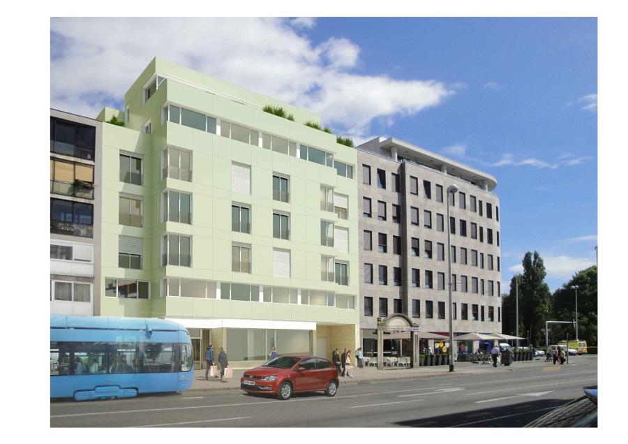 3-01 Budući izgled hotela u Maksimirskoj 121