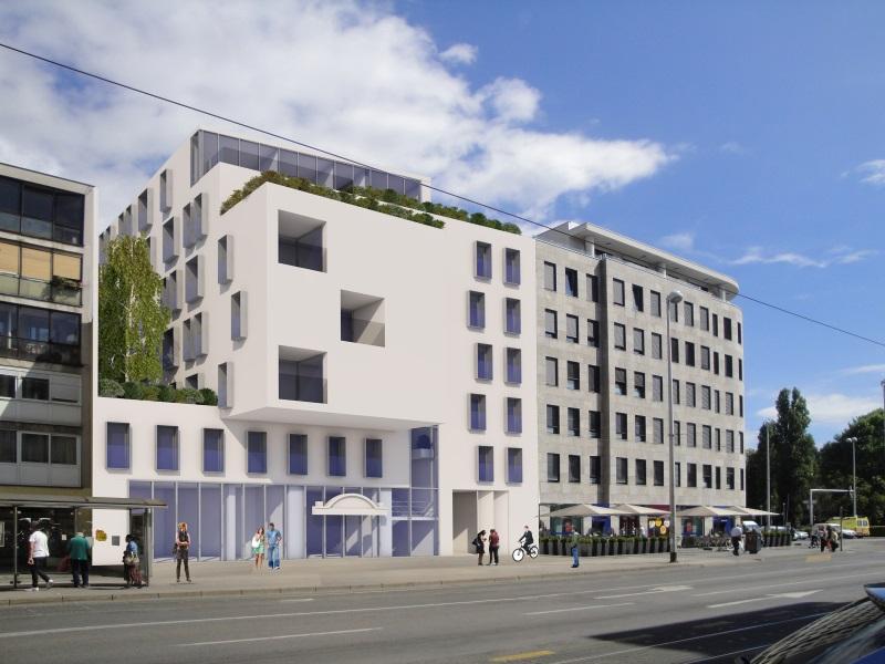 4-01 Budući izgled hotela u Maksimirskoj 121