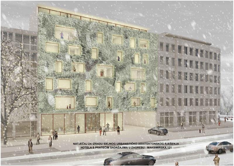 5-01 Budući izgled hotela u Maksimirskoj 121