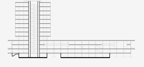 Poslovna Zgrada Kockica Zgrada Ministarstva Drustvo Arhitekata